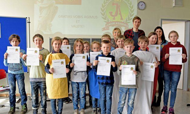 """Gelungene Auftaktveranstaltung der """"GV- Junior Akademie"""""""