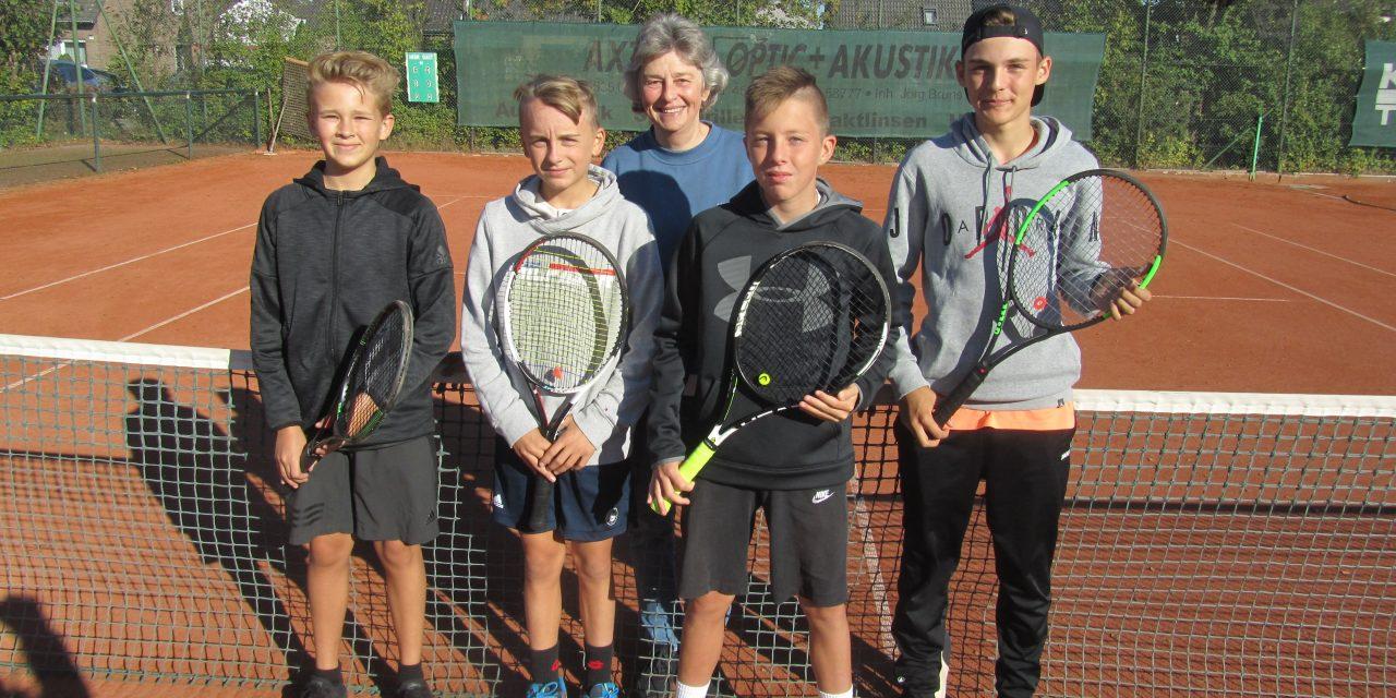 Tennis-Kreismeister 2018/19 in allen Klassen
