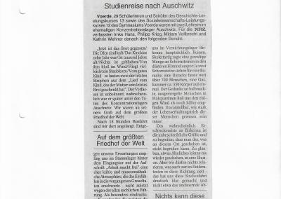 2000_02_08_NRZ_Auschwitz-Fahrt_Pressearchiv