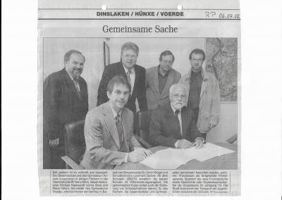 2002_07_06_RP_Kooperation_mit_der_Gesamtschule_Voerde_Pressearchiv