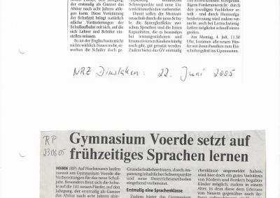 2005_06_22_NRZ_START_MIT_ZWEI_FREMDSPRACHEN_PRESSEARCHIV
