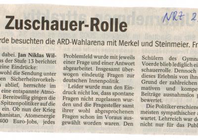 2009_09_23_NRZ_Sozialwissenschaften_Wahlarena