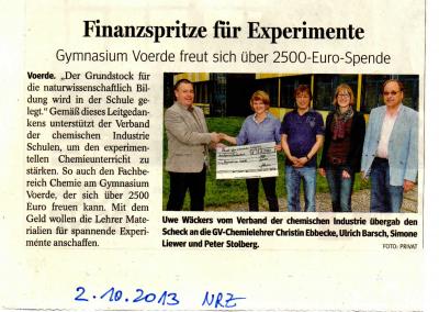 2013_10_02_NRZ_Spende_Chemie