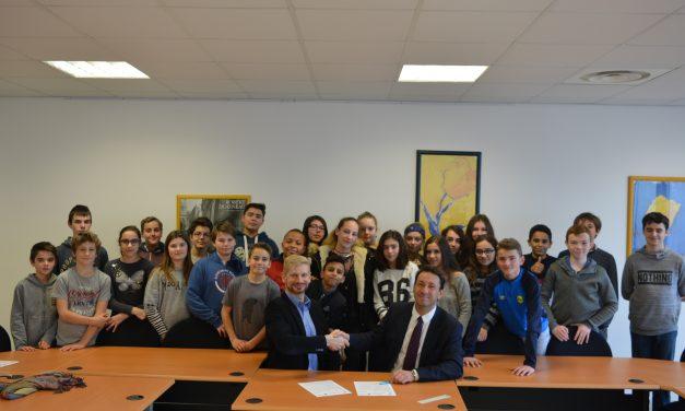 Bon voyage en Bretagne!: Das Gymnasium Voerde besiegelt eine neue Schulpartnerschaft mit dem Collège du Haut-Gesvres in Treillières