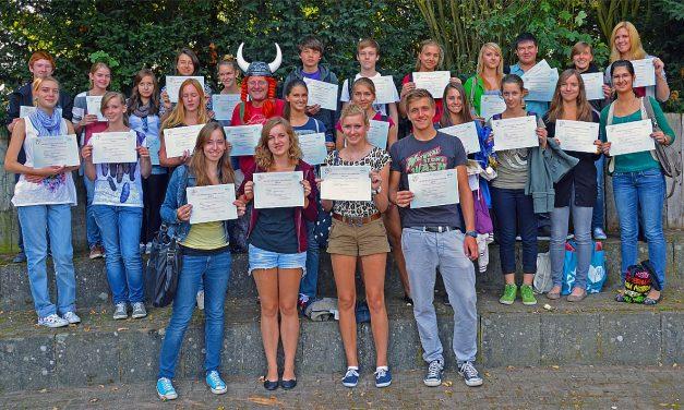 DELF-Diplome am GV bestanden