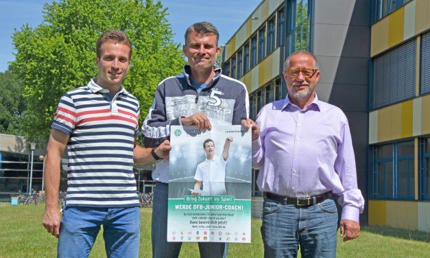 Das Gymnasium Voerde wird DFB-JUNIOR-COACH SCHULE