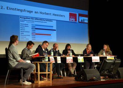 GV-Forum zur Landtagswahl 2017