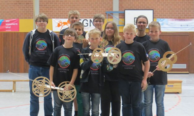 """Mit der Energie der Mausefalle: GV-Schüler bei """"Mausefallenrennen"""" erfolgreich"""