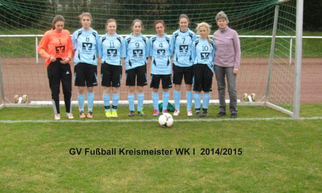 Fußball-Mädchen vom Gymnasium Voerde Kreismeister