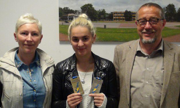 Vize-Europameisterin im Taekwondo kommt vom GV
