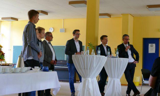 Unternehmerfrühstück am GV: Schule und Wirtschaft in Voerde – eine wunderbare Freundschaft?