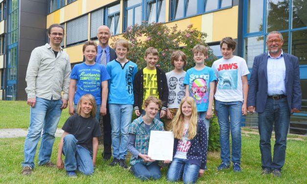 GV-Schüler belegen den dritten Platz im 3malE-Schulwettbewerb