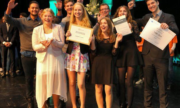 Engagement zahlt sich aus: Schüler des GV gewinnen mit ihrem Schülercafé den Schulpreis der IHK-Niederrhein