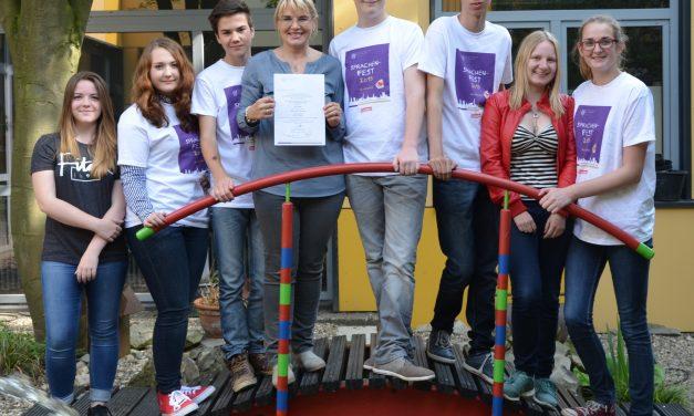 Erfolg für das Gymnasium Voerde beim Sprachenfest in Hamburg