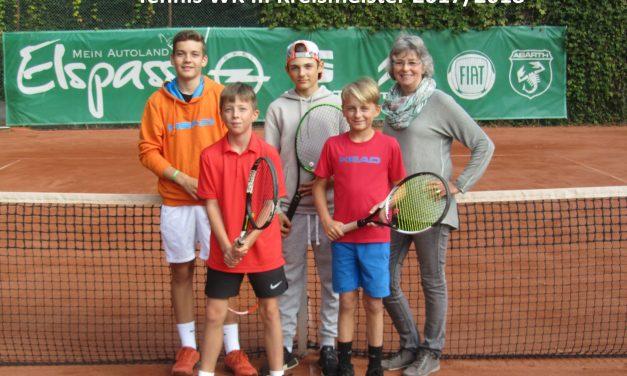 GV-Schülerinnen und Schüler feiern Erfolge im Tennis