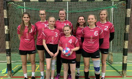 Das GV ist Vizebezirksmeister und Bezirksmeister im Handball der Mädchen