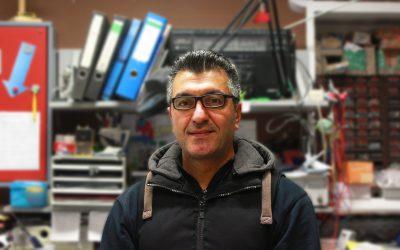 Nihat Şimşek ist neuer Hausmeister am Gymnasium Voerde