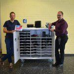 Gymnasium Voerde wird digitalisiert