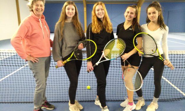 GV-Mädchen sind Tennis-Vize-Kreismeister
