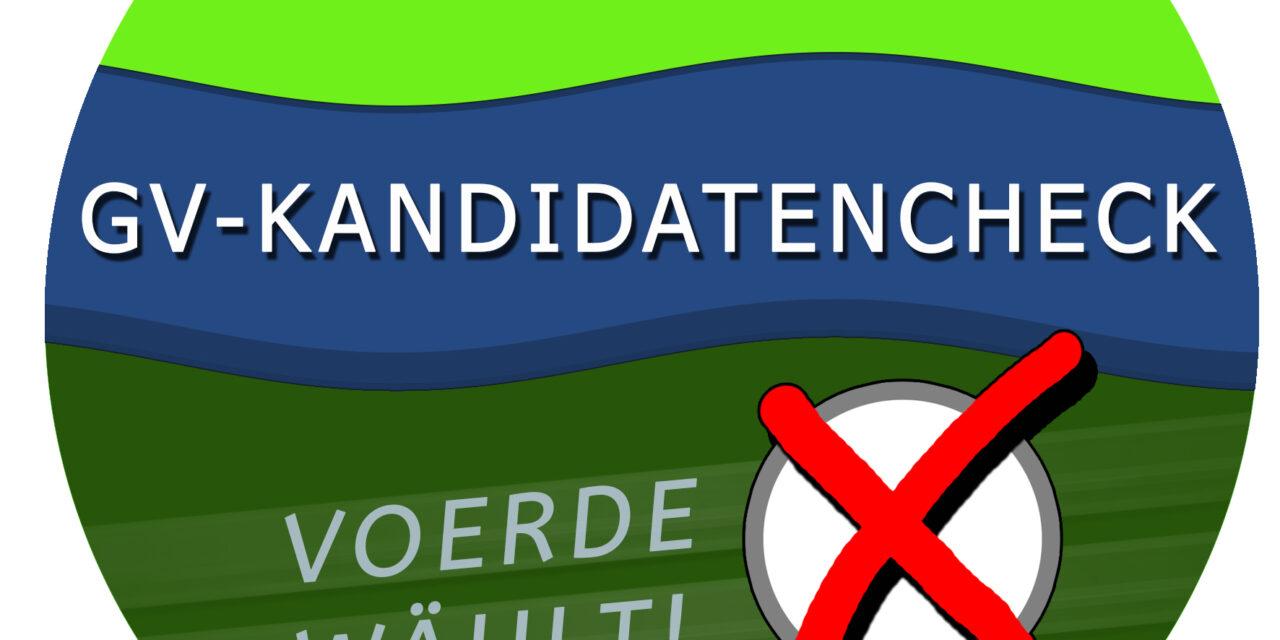 Der GV-Kandidatencheck ist online!