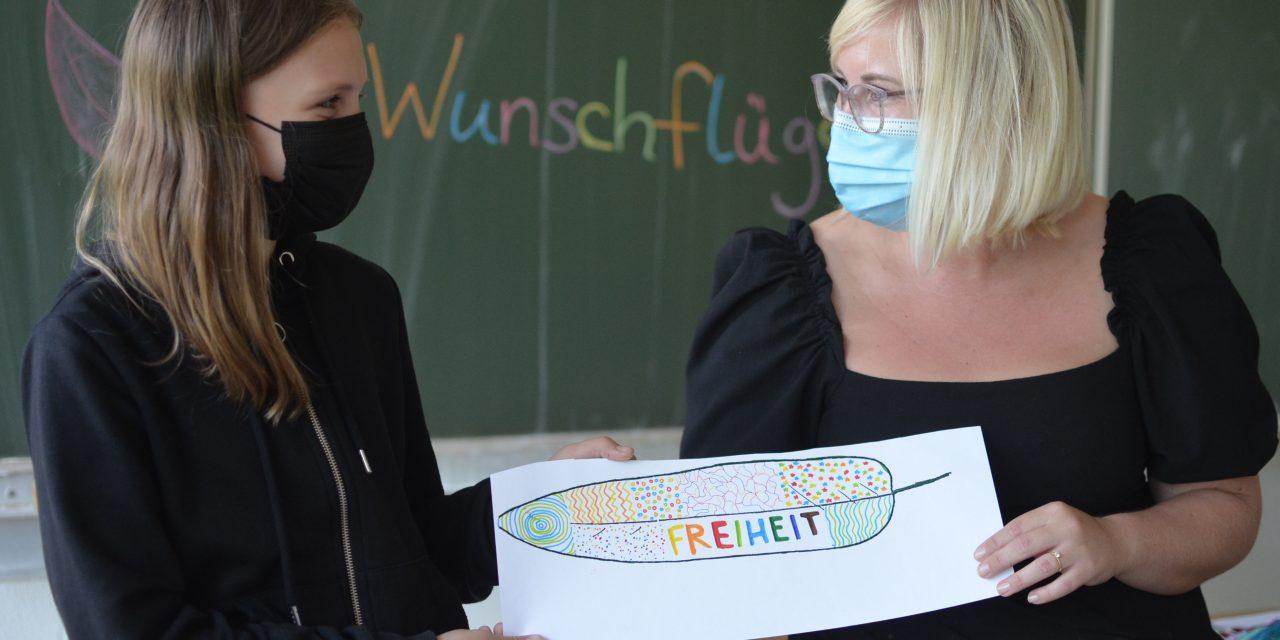 Schülerinnen und Schüler am GV sammeln Spenden für Afghanistan